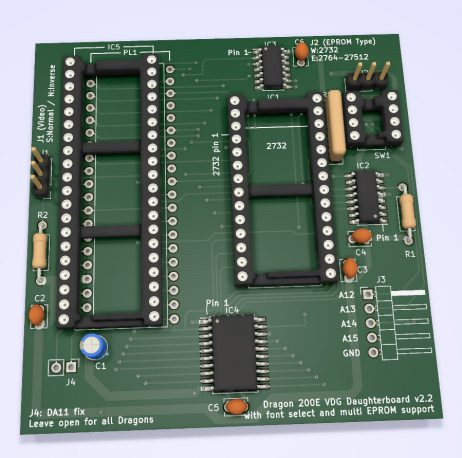 New version of D200E board - coming soon