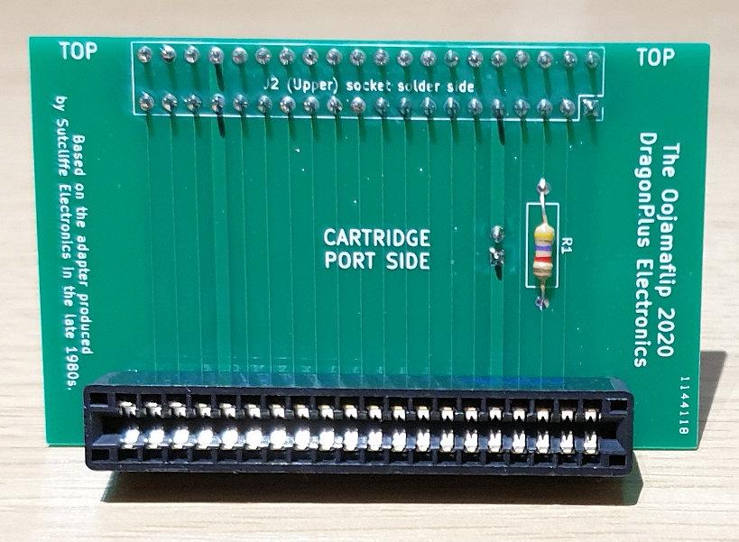 Oojamaflip 2020 - cartridge port view