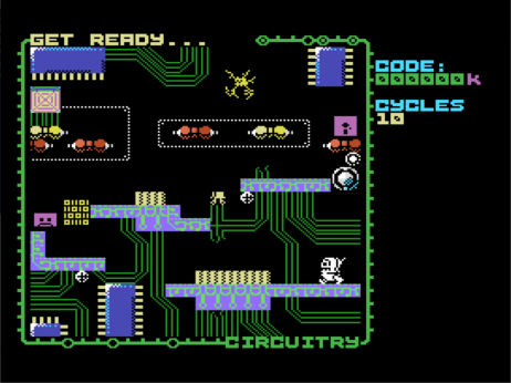 Circuitry on the SuperSprite FM+